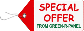 Special Offer From GREEN-R-PANEL